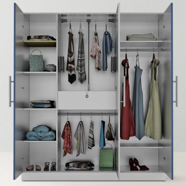Urban Crescent Modular Closet