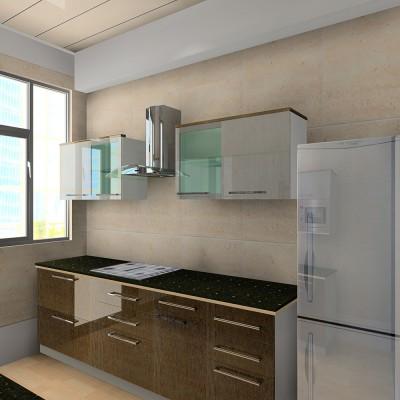 Rustic Elements Parallel Kitchen